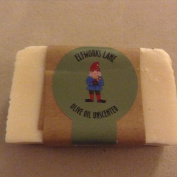 Olive Oil Unscented Small Batch Luxury Gourmet Soap 120ml