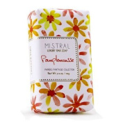 Mistral Papiers Fantaise Collection Grapefruit PAMPLEMOUSSE 90ml Bar Soap