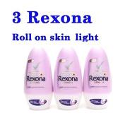 3 REXONA ROLL-ON SKIN LIGHT LIGHTENING WHITENING DEODORANT ANTIPERSPIRANT ( by jofalo ) Hot Items