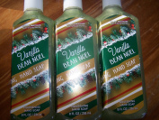 Lot of 3 Bath & Body Works Holiday Traditions Vanilla Bean Noel Nourishing Hand Soap with Shea Butter 240ml Each