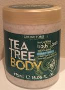 Creightons Tea Tree Invigorating Body Scrub, 470ml