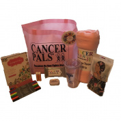 Breast Cancer Patient Gift and Chemotherapy Gift Basket Deluxe Featuring Chemo Beanie