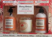 Tommy Bahama Body Wash, Body Lotion and Candle Set - Hawaiian Nectar