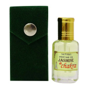 Jasmine Fragrance Natural Perufme Oil 100 % Pure and Natural - 10 ml By Chakra