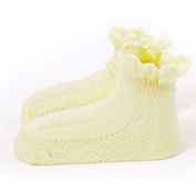 ANQIWA Baby Hat Cotton Cap Maternal and Infant Supplies Yellow