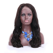 20cm - 70cm Natural Black Colour Brazilian Virgin Hair Body Wave Lace Front Human Hair Wigs for Black Women with Baby Hair
