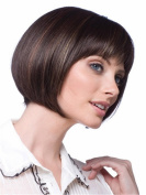 B-G Charming Wigs New Fashion Women Party Cosplay Short Sexy Full Hair Wig Human Hair Natural Looking + A Free Wig Cap WIG030