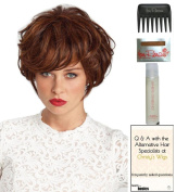 Solei Wig by Revlon, Christy's Wigs Q & A Booklet, 60ml Travel Size Wig Shampoo, Wig Cap & Wide Tooth Comb colour SELECTED