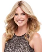 easiPart 30cm Human Hair Volumizer Extensions Clip In Monofilament EasiHair Hairpieces,24B/27CS10