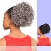 DS005 (Foxy Silver) - Synthetic Ponytail in 280