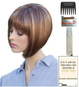 Sadie Wig by Amore, Christy's Wigs Q & A Booklet, 60ml Travel Size Wig Shampoo, Wig Cap & Wide Tooth Comb colour SELECTED
