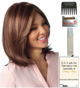 Samantha Wig by Amore, Christy's Wigs Q & A Booklet, 60ml Travel Size Wig Shampoo, Wig Cap & Wide Tooth Comb colour SELECTED