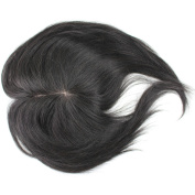 Rossy & Nancy Brazilian Real Huamn Hair Natural Black Hairpieces Toupee for Men