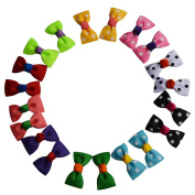 Bzybel Baby Girl's 5.1cm Boutique Hair Bows with Alligator Clips