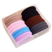 20 PCS Large Size Hair Ties Colourful Elastic Hair Ring-02