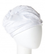 Wrapadoo 2-in-1 Hair Towel, White