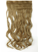24-80cm Straight Curly 3/4 Half Full Head 1 Piece 5 Clips in Hair Extensions