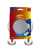 Command 17606B-V2 Command Fog-Resistant Mirror with Water-Resistant Strips, White by 3M CHIMD