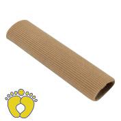 HappyFeet Fabric Gel Tube Bandage Cushion Corns and Calluses, Hallux Valgus Orthopaedics, Bunion Guard Finger Toe Protector