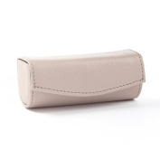 Lipstick Case - Full Grain Leather - Stone