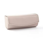 Lipstick Case - Full Grain Leather - Stone