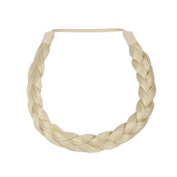 Milano Collection PREMIUM Braided Hairband 1.3cm Inch Thick - Blond