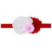 FEITONG Baby Kids Girls Flower Hairband Elastic Headband
