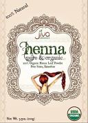 Jiva USDA Organic 100% Pure Henna Powder 100 Gramme - Ecocert Certified