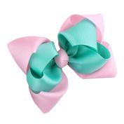 DZT1968(TM) Baby Kids Girls Hair Band Hairpin Mini Pearl Bow Headband