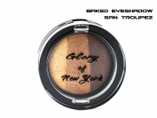 Glory Of New York Natural Baked Eyeshadow Trio (3 in 1) Paraben Free/Mineral Based Eye Shadow GNY, 0mls, MADE IN USA