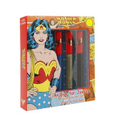 Wonder Woman An Eye for Justice Liquid Eyeliner Set, 3 pcs