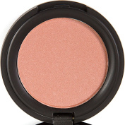 Blush Pressed Blusher Face Powder Makeup with Mirror Case - All Natural, 75% Organic, Gluten Free, Vegan - No Toxic Chemicals, Non Irritating - Cool Pinky Brown Colour - Flush