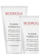 Biodroga puran formula BB cream spf 15 for impure skin - 01 sand touch 40 ml /44gr