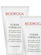 Biodroga puran formula BB cream spf 15 for impure skin - 01 sand touch 40 ml /44gr