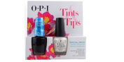 OPI Tints & Tips Sheer Tint I Can Teal You Like Me & Kyoto Pearl Set