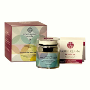 Day & Night Age Defying Four-In-One Face Cream, Natural & Renewable Ingredients, Holistic Moisturiser for Normal to Oily Skin by Good Karma Skincare. Gluten Free