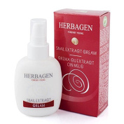 Herbagen Snail Extract Cream, Poly-Helixan Based Formula - 100ml