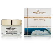 Gold Mineral Dead Sea Intensive Nourishing Cream with Hyaluronic Acid, Enriched with Dead Sea Minerals