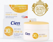 Cien Anti-Wrinkle Anti-Age Day Cream with Q10 and Vitamin E with UV Filter 50 ml