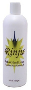 Rinju Body & Hand Lotion 470ml Enriched With Vitamin-E (6 Pack) by Rinju