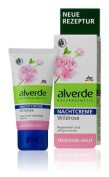 Alverde Wild-Rose Moisturising Night Face-Cream - Helps Regenerate Skin & Restore Radiance - 50ml -