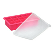 green sprouts Fresh Baby Food Freezer Tray, Pink