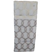 aBaby Moroccan Style Carriage Liner, Beige