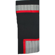 aBaby Rubiks Style Carriage Liner, Black/Red/White