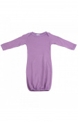 Luca Charles Gown Lap Tee, Lilac, 3-6 Months