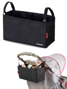 Baby Nappy Bag Insert Organiser Stroller Nappy Bag for Mom with 7 Pockets, Turn Your Favourite Tote Bag into A Trendy Nappy Bag
