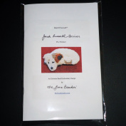 Bead It Yourself JACK RUSSELL Terrier dog brooch Bead Embroidery Beading Kit by The Lone Beader