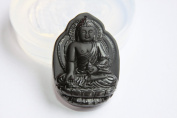 Clear silicone Amulet Pendant Moulds, Lucky Buddha pendants 54x38mm