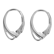 VALYRIAV 1 Pair of Sterling Silver Lever Back Earrings Earwire Findings
