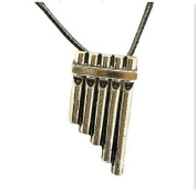Skylly Peter Pan Flute Pendant Necklace, Pan Movie